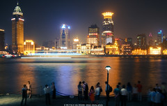 The nightview of the bund (chichuwang) Tags: shanghai nightview bund omd m43 2017 em5