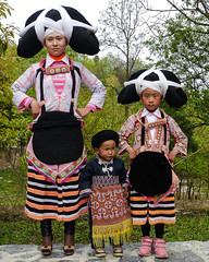 The Long Horn Miao (Rita Willaert) Tags: china tribal guizhou miao minority etnic anshun longhornmiao southwestchina minderheden villagelongga