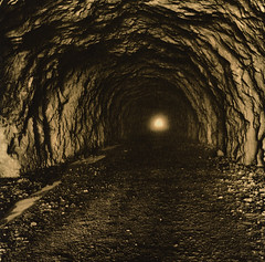 Light at the end.... (andreios) Tags: france 6x6 rollei darkroom print chartreuse bronica lith moersch fomatone rpx400
