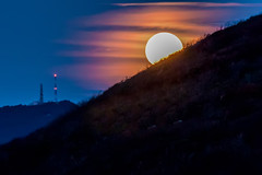 Moon shining bright behind black mountains (DigiDreamGrafix.com) Tags: shadow sky cloud brown moon white black mountains silhouette night dark heaven peace shine space tranquility surface crescent full beam telescope moonrise astrophotography harmony midnight round half quarter moonlight astronomy rise idyllic lunar orbit tranquil moonbeam clowuds