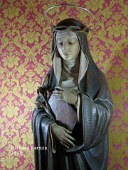 Saint Rose (fajjenzu) Tags: sculpture statue architecture faith religion malta christianity saintrose sliema nazarene jesusofnazareth saintroseoflima jesusthenazarene