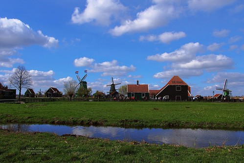 Zaanse Schans, North Holland, the Nether by Luke,Ma, on Flickr