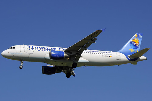 Thomas Cook (Years) A320-214 OO-TCH GRO 01/05/2013