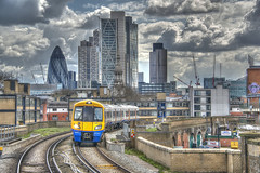 Leaving The City Behind (Follow That Dream Photography) Tags: city london underground skyscrapers financialdistrict business railways hdr overground banks offices commuters tfl bankofengland financialservices globalfinance bankingindustry nikond800 insuranceindustry leavingthecitybehind