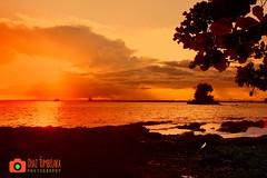 Sunset - Strand (Chaz Tumbelaka Photography) Tags: sunset ship balikpapan manggar