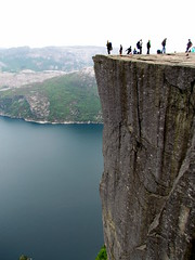 (Rose Elizabeth *) Tags: summer norway rock drop fjord pulpit height preikestolen 2013