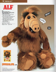 Wisecracking Talking ALF (OrangeSlime.com) Tags: show animal tv stuffed doll 1987 alien alf talking coleco