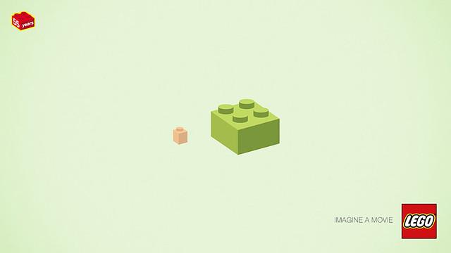 LEGO 紀念55 週年廣告 猜猜猜