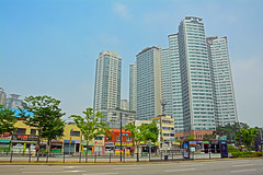 Seoul, Korea (BlakeLewisPhotography) Tags: city wall crazy war military south style insects korea bugs busy seoul plans gangnam