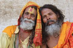 Sadhu friends (martien van asseldonk) Tags: nepal man kathmandu