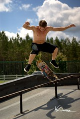 Skateboard Park v12 (WD Quiroz) Tags: sony skateboard a300