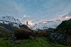 IMGP2042 (simonlaflamme) Tags: nepal mountain sunrise landscape hike annapurna basecamp