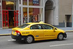 Yellow Cab Coop (So Cal Metro) Tags: sf sanfrancisco yellow honda cab taxi yellowcab civic taxicab