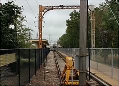 Skokie (BalineseCat) Tags: train track cta line swift skokie tellow