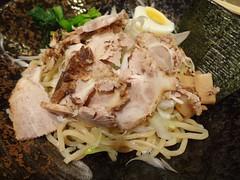 Dip Ramen @Bishamonten Ramen, Gubei, Shanghai (Phreddie) Tags: china food lunch japanese soup restaurant yum shanghai eat ramen noodle dip bishamonten gubei 130831