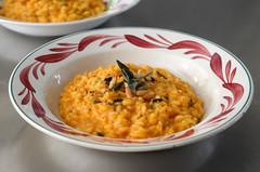 pumpkin risotto (g2graphics) Tags: pumpkin sage risotto