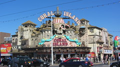 Touristy Blackpool (deltrems) Tags: coral island coast amusement traffic arcade lancashire promenade blackpool fylde coralisland