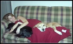 Jenny Farren, Charlie and Rebel (photosbysusan!) Tags: pets rebel jenny charlie 200712
