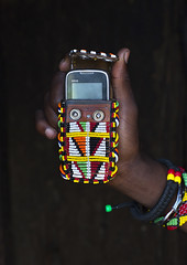 Masai Warrior Mobile Phone Decorated With Beads, Nakuru County, Nakuru, Kenya (Eric Lafforgue) Tags: africa travel red people man color colour tourism fashion vertical person photography day adult kenya african telephone decoration cellphone tribal jewellery communication safari textile human mobilephone males bead warrior copyspace wirelesstechnology tradition ornate massai tribe moran nakuru masai maasai adultsonly oneperson kenyan eastafrica brightcolour rift humain colorimage darkbackground maassai onemanonly colourimage 1people indigenousculture africanculture ethny colourpicture ethnicjewel nakurucounty kenya201410110