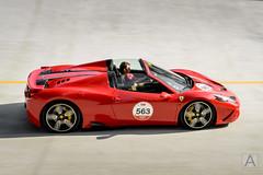 Ferrari 458 Speciale A (*AM*Photography) Tags: auto red car italian nikon automobile fast ferrari exotic tribute rare limitededition supercar v8 speciale autodromo roadster aperta monza sopraelevata 458 1000miglia d3200 worldcars