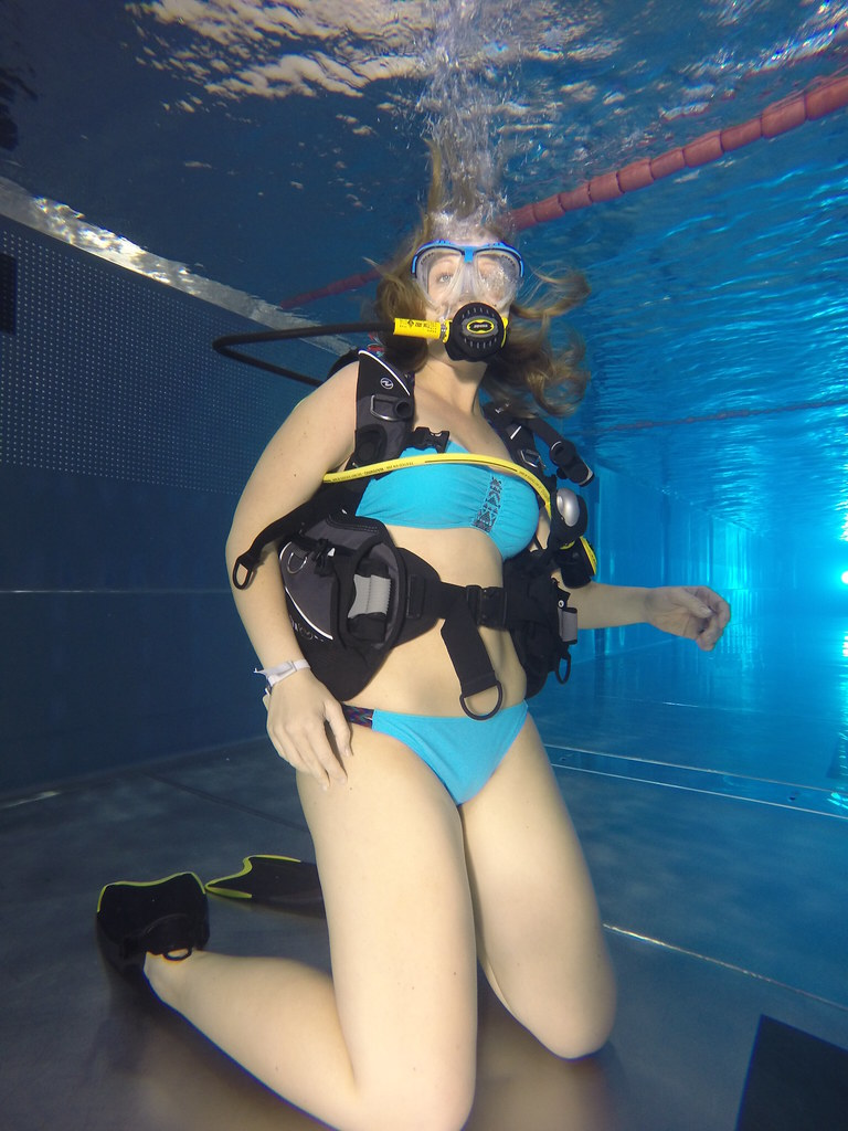 Bikini scuba video