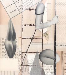 phantom limbs (kurberry) Tags: collage cutpaste vintageephemera collageaday