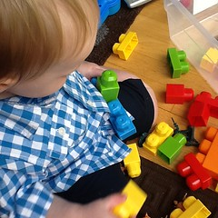 "Paul Plays with Blocks • <a style=""font-size:0.8em;"" href=""http://www.flickr.com/photos/109120354@N07/17807087256/"" target=""_blank"">View on Flickr</a>"