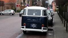 05-YD-65 Volkswagen Transporter taxi bus 1973 (Wouter Duijndam) Tags: bus volkswagen taxi 1973 transporter 05yd65