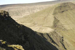 22nd April 2015 Brecon Beacons SDP2M 094 (Parishes of the Buzzard) Tags: uk cliff mountain mountains wales walking spring path walk south thegap ridge april welsh peaks brecon beacons walkers cribyn 2015 fovoen sigmadp2merrill