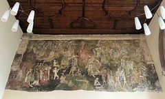 Doom (badger_beard) Tags: doom painting judgement final revelation reckoning souls weighing weighed scales justice evil good heaven hell angels demons devils 15th century waltham abbey lady chapel essex