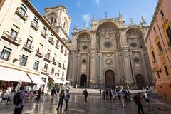 Granada Cathedral (JOAO DE BARROS) Tags: spain joo barros granada cathedral church architecture monument