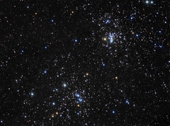 The Double Cluster (David Slack Astrophotography) Tags: space stars clusters astronomy astrophotography sxvh9 ed80 refractor perseus