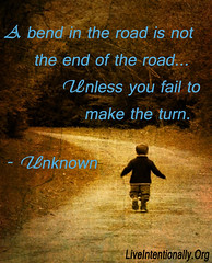 quote-liveintentionally-a-bend-in-the-road (pdstein007) Tags: quote inspiration inspirationalquote carpediem liveintentionally
