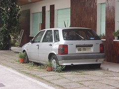 abandoned Fiat Tipo (regular carspotting) Tags: abandoned fiat tipo italian