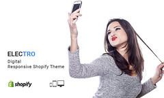 Electro  Digital Responsive Shopify Theme (ThemeTidy) Tags: shopify themes paira templates bootstrap responsive electricshop electro electronics