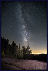 Sunset and Milk 0314 (maguire33@verizon.net) Tags: sequoianationalpark california unitedstates us milkyway stars galaxy nightsky sunsetrock