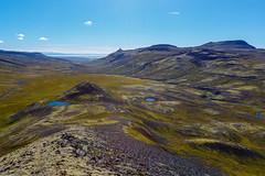 From Snfellsnes Peninsula (nurdug2010) Tags: snfellsnes viewfrommtgrmsfjall hiking landslag sland iceland