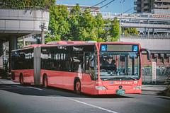MERCEDES-BENZ Citaro_O530G_Sagami230A1003 (hans-johnson) Tags: mercedesbenz mercedes benz evo evobus bus articulatedbus bendybus red atsugi kanagawa kanachu o530 o530g kanto japan nihon nippon sagami transit transport transportation canon eos 5d 5diii 5dm3 5d3 vsco 70200 twin liner twinliner        shonan