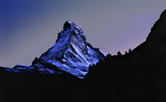 Mysterious Matterhorn (Film) (tsuping.liu) Tags: outdoor organicpatttern landscape nature natureselegantshots naturesfinest nationalgeographic night mountain morningglory moment photoborder perspective passion