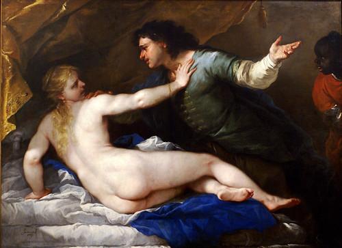 Luca Giordano, Lucretia und Sextus Tarquinius