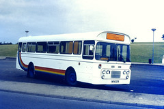 Slide 079-07 (Steve Guess) Tags: severn bridge services severnside christian ministry ford plaxton derwent bus nonpsv nfn327r ministries