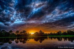 Low Ceiling (DonMiller_ToGo) Tags: hdr 5xp cloudporn outdoors sunsetmadness millerville hdrphotography onawalk sunsets goldenhour sunsetsniper florida d810 sky clouds