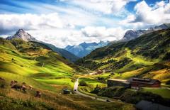 Hochtannbergpass (Wolfgang Staudt) Tags: ochtannbergpass bregenzerwaldstrasse passstrasse bregenzerach gebirgspass gebirge vorarlberg oesterreich europa alpen bregenzerwald grosserwidderstein hochkrumbach jaegeralpe hochgebirge