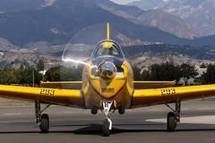 T-34 Mentor (Trent Bell) Tags: aircraft openhouse flyin brackett field airport laverne california socal 2016 n12281 beech a45 t34 mentor