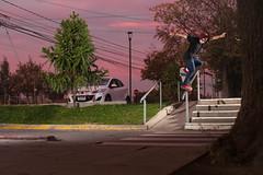 ... (d-kings) Tags: canon 6d 50mm f14 skateboarding skate skateboard skaterancagua skatechile sk8 strobist sebastincastro