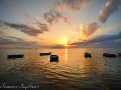 Together (Francesco Impellizzeri) Tags: sunset trapani sicilia