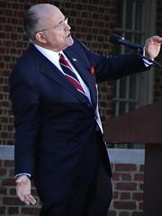 Rudy Giuliani (James B Currie) Tags: rudygiuliani donaldtrump trump trumprally regentuniversity virginiabeach politics rally election2016 campaign makeamericagreatagain october 2016 politician people republicans gop