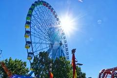IMGP6548 (Ripper2860) Tags: pentax k3 tamronspaf1750f28xrdiiild texas statefair fair ferriswheel circle sky flare sunburst