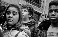 What you do? (Baz 120) Tags: candid candidstreet candidportrait city candidface candidphotography contrast street streetphoto streetcandid streetphotography streetphotograph streetportrait naples mft m43 monochrome monotone mono omd em5 blackandwhite bw urban noiretblanc life portrait people unposed olympus italy italia grittystreetphotography faces decisivemoment strangers flashstreetphotography flash streetfaces