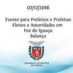 Evento Foz - Balanço - Dez.2016